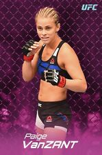 UFC PAIGE VANZANT 24x36 POSTER NEW FIGHTER BOXING MMA UFC WOMAN STRONG GLOVES!!!