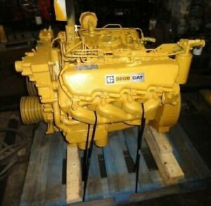 1981-CAT-3208N-Diesel-Engine-210HP-All-Complete-and-Run-Tested