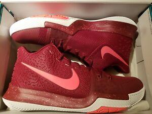 681 Kyrie Nike Team 3 Irving White Zapatillas Sz baloncesto Hot 852395 Punch de Red 11 HSd6dqw1
