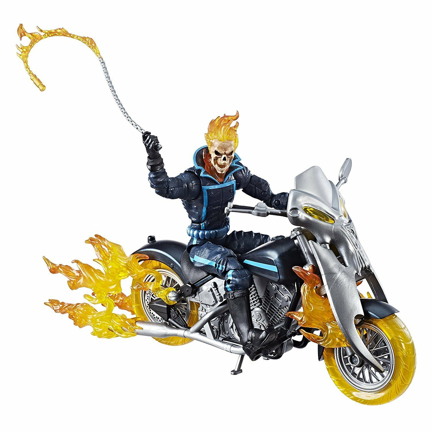 Marvel Legends Series Series Series 6-inch Ghost Rider ,  Flame Cycle and Motorcycle Set d25464