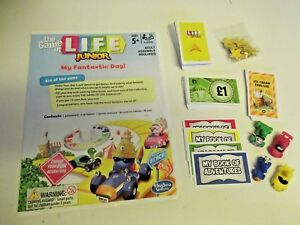 Spare/replacem<wbr/>ent parts for the Game of life JUNIOR 2014  CHOOSE: