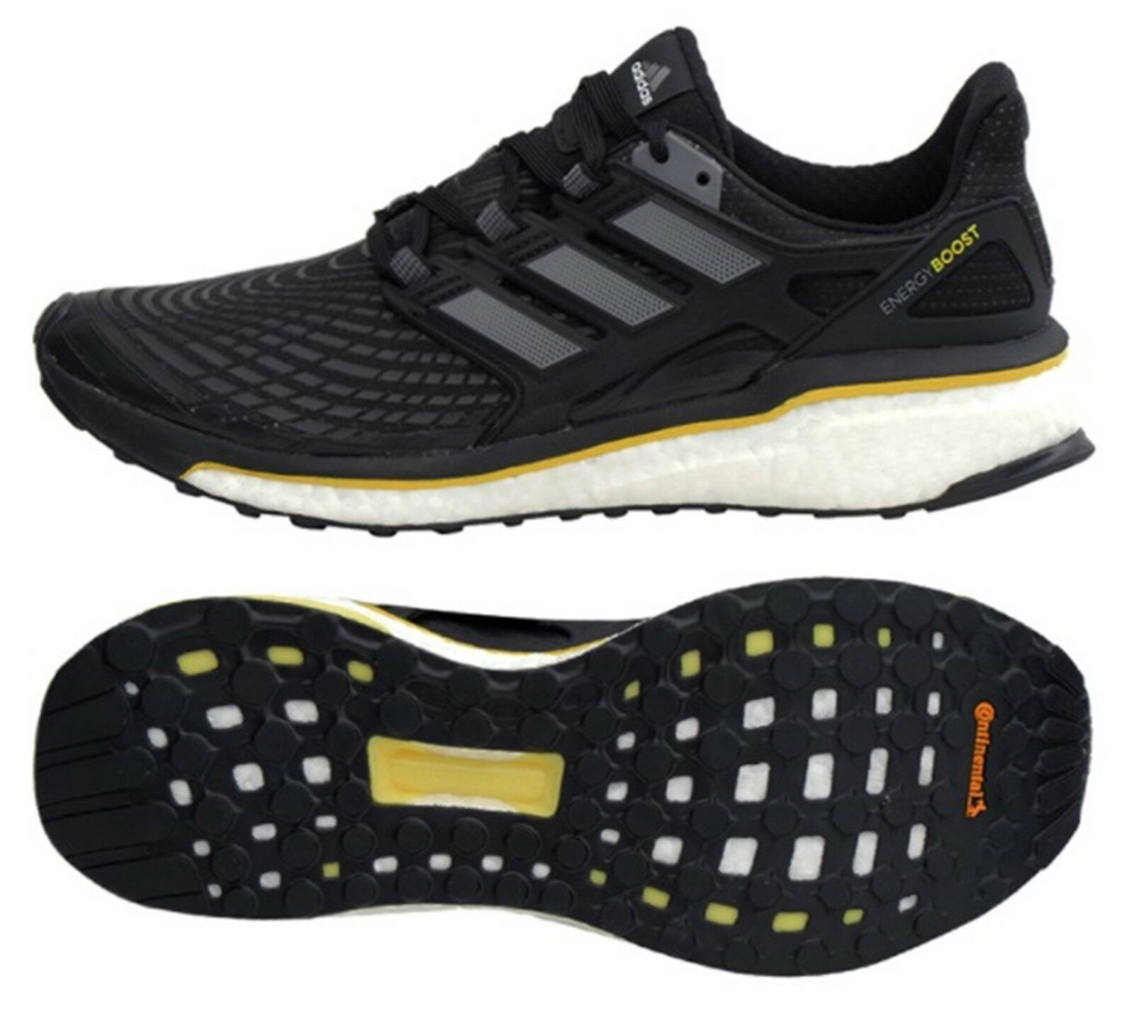 Adidas mannen Energy Boost Training schoenen hardlopen zwart sportschoenen GYM schoen CQ1762
