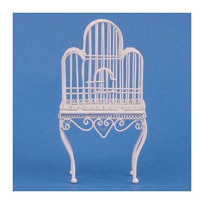 Bescheiden Sa-dolls House Df561 Großer Vogelkäfig Weiß 1:12 Für Puppenhaus Neu! # Elegant En Sierlijk