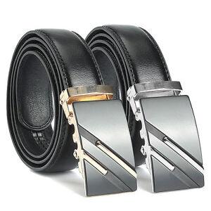 Classique pour homme en cuir ceinture taille ceinture sangle boucle ... 8a45370adf7