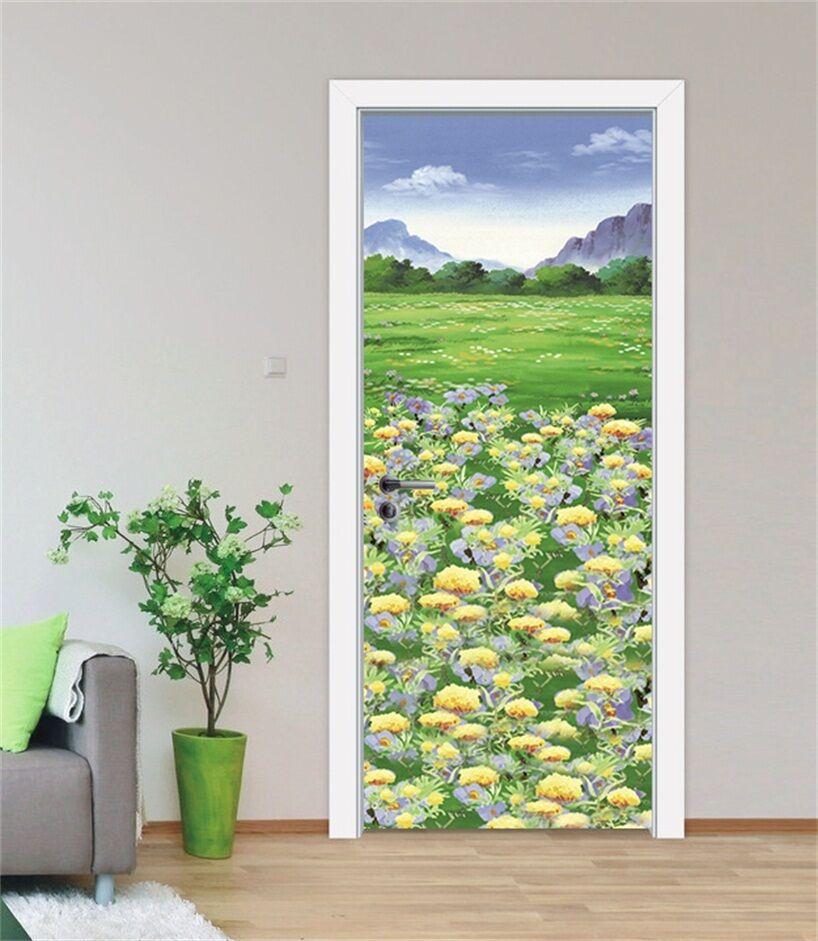 3D Hanada 9 Tür Wandmalerei Wandaufkleber Aufkleber AJ WALLPAPER DE Kyra