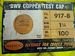 1//4 Copper Cap Pack of 100