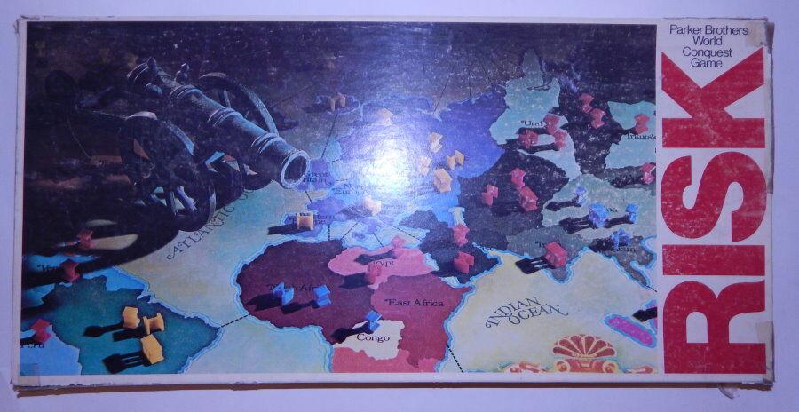 Vintage 1980 riesgo Conquista Mundo Juego De Mesa Excelente Estado R8341 R12681