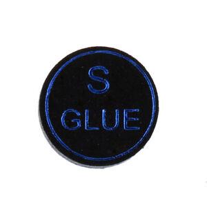 High-Quality-Pigskin-Leather-Billiard-Pool-Cue-Tips-Black-13mm-Soft