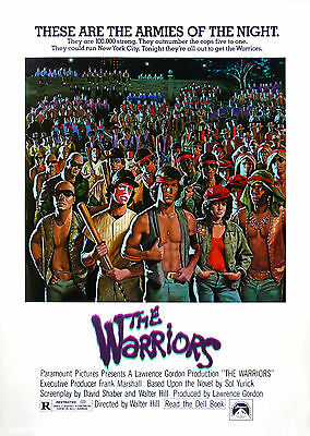 The Warriors - A1/A2 Poster **BUY ANY 2 AND GET 1 FREE OFFER**
