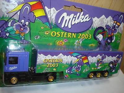 Werbetrucks Reklame & Werbung Praktisch Milka Ostern 2003 Renault Truck 1/87