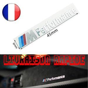 2-Pcs-Voiture-M-Performance-Aluminium-Autocollants-Stickers-BMW-X1-Voiture-Style