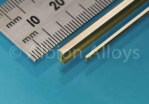 Albion-Alloys-IB6-1-x-6mm-x-3mm-x-305mm-Brass-039-I-039-Beam-Cut-From-Solid-1stPost