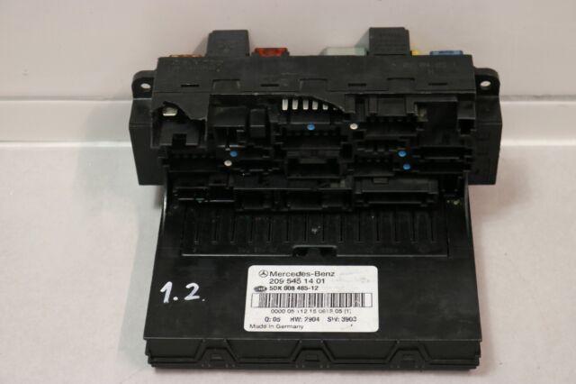 Orig Mercedes W209 W203 SAM Sicherungskasten Steuergerät Relais A2095451401