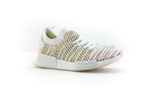 newest 2f324 b5044 Details about B43838 Adidas Women NMD R1 STLT PK W white semi solar yellow  solar pink