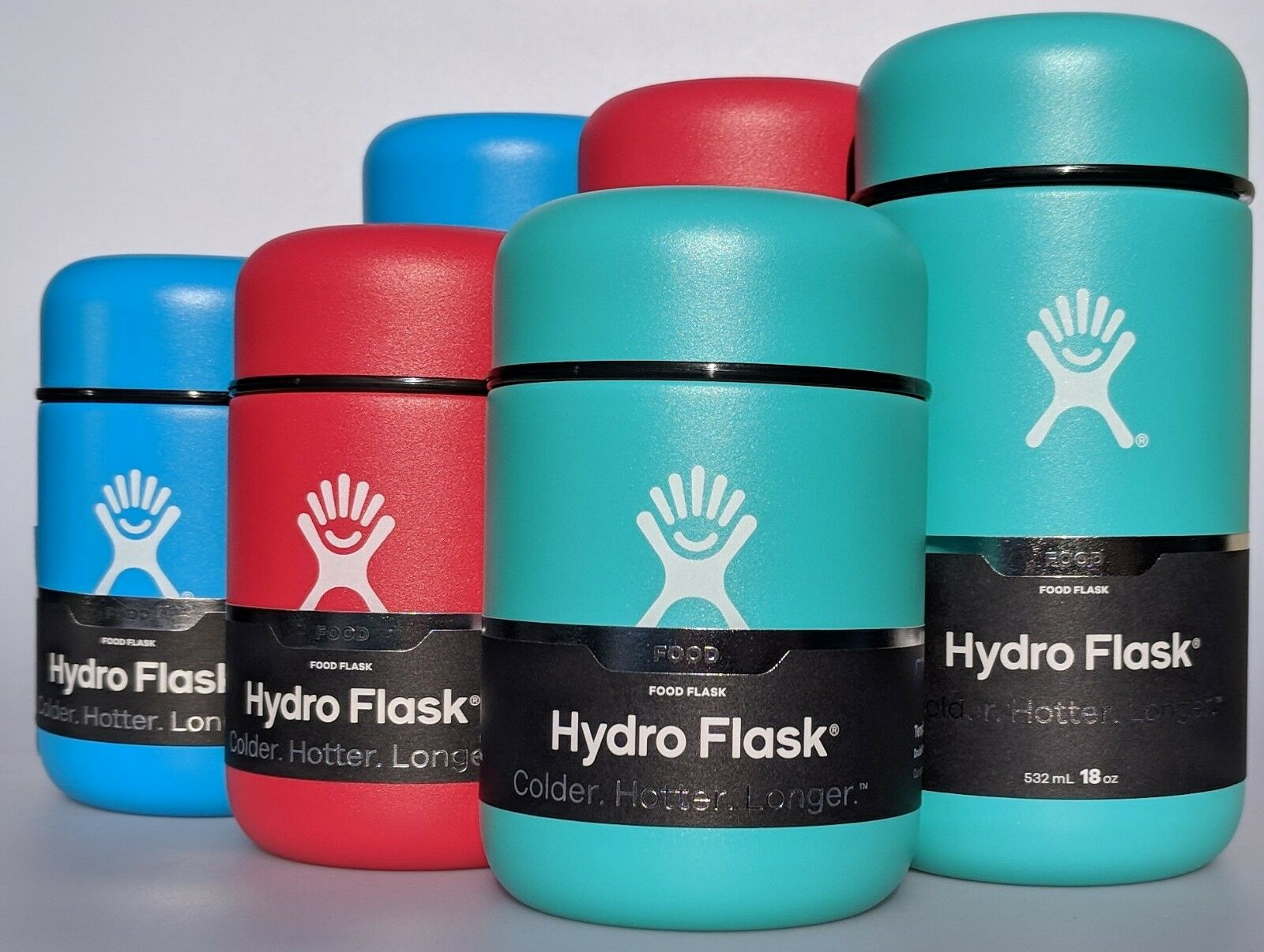 Hydro Flask Stainless Steel Food Flask Container 12oz 18oz