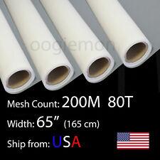 3 Feet 65 Wide Silk Screen Printing Mesh Fabric 200 M 80t Polyester 36 L