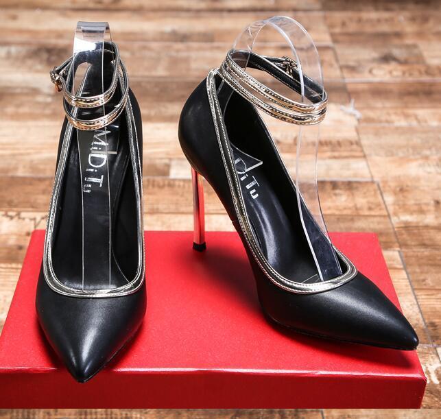Damenschuhe Stilettos Mixed High Heels Slip On Mixed Stilettos Farbe Pumps Schuhes Wedding Show Plus Sz 6ba7f2