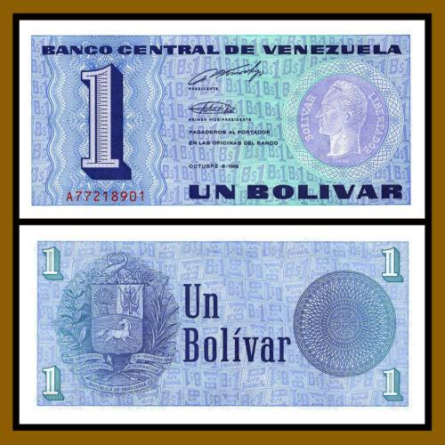 1989 P-68 Unc Venezuela 1 Bolivar x 100 Pcs Bundle