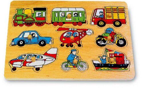 9 Motive aus aus dem Verkehr Neu Neu OVP Setzpuzzle,Verkehr Steckpuzzle