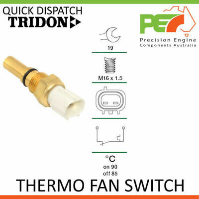 New Thermo Fan Switch TFS For Toyota Camry 4 Cyl SXV20R TRIDON