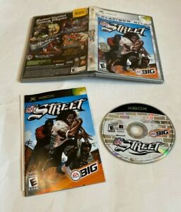 NFL Street 1 (Microsoft Xbox, 2004) Platinum Hits COMPLETE FAST SHIPPING NTSC