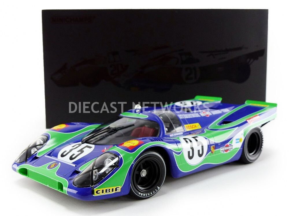 Minichamps PORSCHE 917K MARTINI ROSSI RACING WATKINS GLEN 1970  12 New