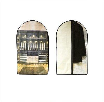 10x Suit Copertura Gon Na Vestito Abbigliamento Cappotto Vestiti Camicia Travel Carrier Storage Bag-mostra Il Titolo Originale