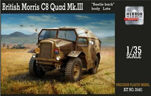 Mirror-Models-1-35-Morris-C8-Quad-MK-III-039-Beetle-Back-Early-Body-039-35401