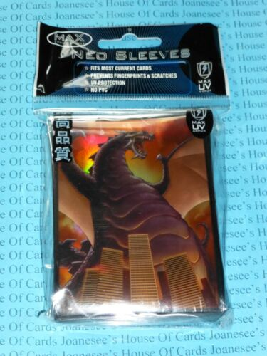 "Standard Size Sleeves x 50 Deck Protectors /""Destructor/"" Max Protection"