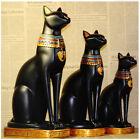 "1PC 15"" Ancient Egypt Egyptian Goddess Cat Pharaoh Figurine Statue Sculpture"