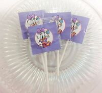 12 Baby Daisy Duck Lollipops Candy For Party Favors