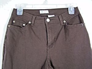 D-amp-Co-Womens-Jeans-Straight-Leg-Size-6-Brown