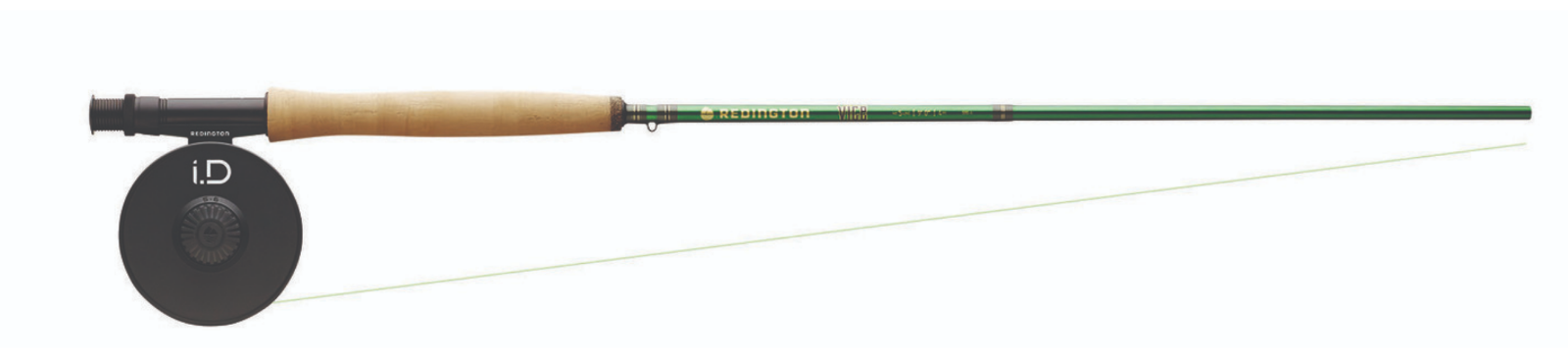 rotington VICE 790-4 Fliegen Fishing Rod & Reel Combo 6wt 9'0  4pc