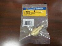 "Yellow Jacket 1/2"" Acme SealRight x 1/4"" Male flare Coupler - 19163"