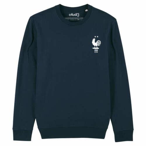 Sweat 2 ÉTOILESéquipe de France football maillot champions foot euro 2020