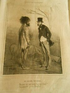 Litho-1847-Moeurs-Britanniques-Un-Costume-National-Irlandais