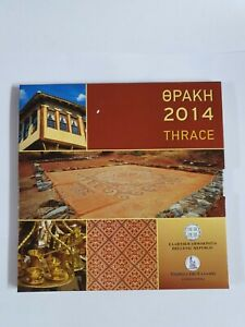 Offiz-KMS-Coin-Set-1-Cent-2-Euro-Greece-2014-BU-in-Blister