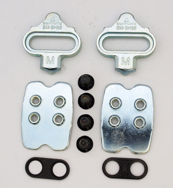 Shimano 170941 SH56 Multi Directional Release SPD Pedals Cleat Silver
