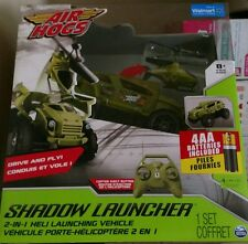 Air Hogs RC Shadow Launcher Car Helicopter Drive & Fly Remote Control New