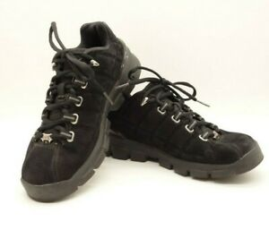 reebok casual sneakers women's 65 m solid black suede