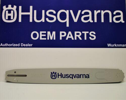 "Genuine OEM  Husqvarna 18/"" Guide Bar HT380-68 608000044 3//8/"" .050 68DL 531300586"