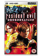 Resident Evil - Degeneration (New & Sealed)(Sony PSP UMD Video) Free Postage