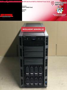 Dell PowerEdge T630 2x E5-2620v3 384GB PercH730P 32TB SAS 2x 750W Tower Server