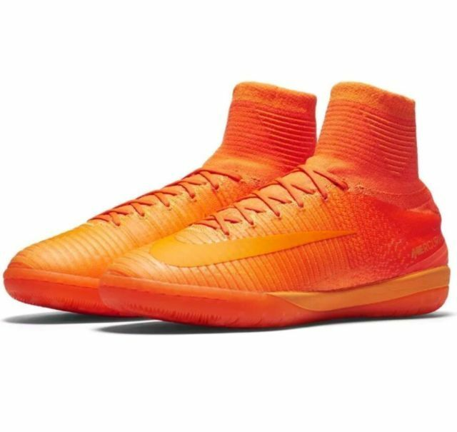 0fe4fc11d6aa Nike MercurialX Proximo II IC Sz 10.5 100 Authentic Indoor Orange 831976  888 for sale online