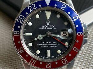 1967 Rolex Gmt Master 1675 Pepsi Mark 0 Long E Project Watch Nr Ebay