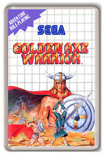 GOLDEN AXE WARRIOR SEGA MASTER SYSTEM FRIDGE MAGNET IMAN NEVERA
