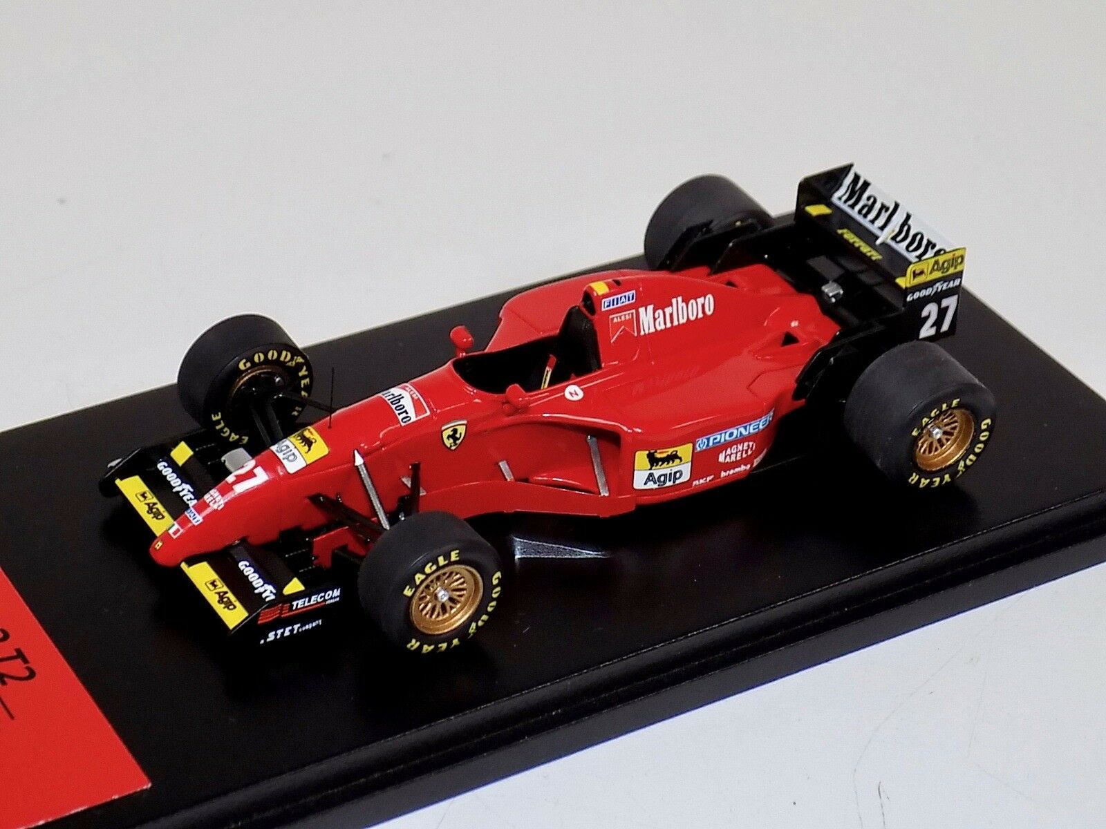 1/43 TSM Fujimi Formula 1 Ferrari 412 T2 1995 Alesi with Marlboro