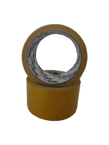 EUR 0,15 // m 3x Verlegeband Teppich Klebeband beidseitig klebend 50mm x 10m
