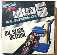 1977 Aurora Speedsteer Ultra5 Slot less Car OIL SLICK DETOUR Track Obstacle 3102