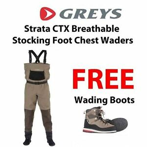 Greys-strata-ctx-stocking-pied-respirant-fly-poitrine-echassiers-gratuit-wading-boots